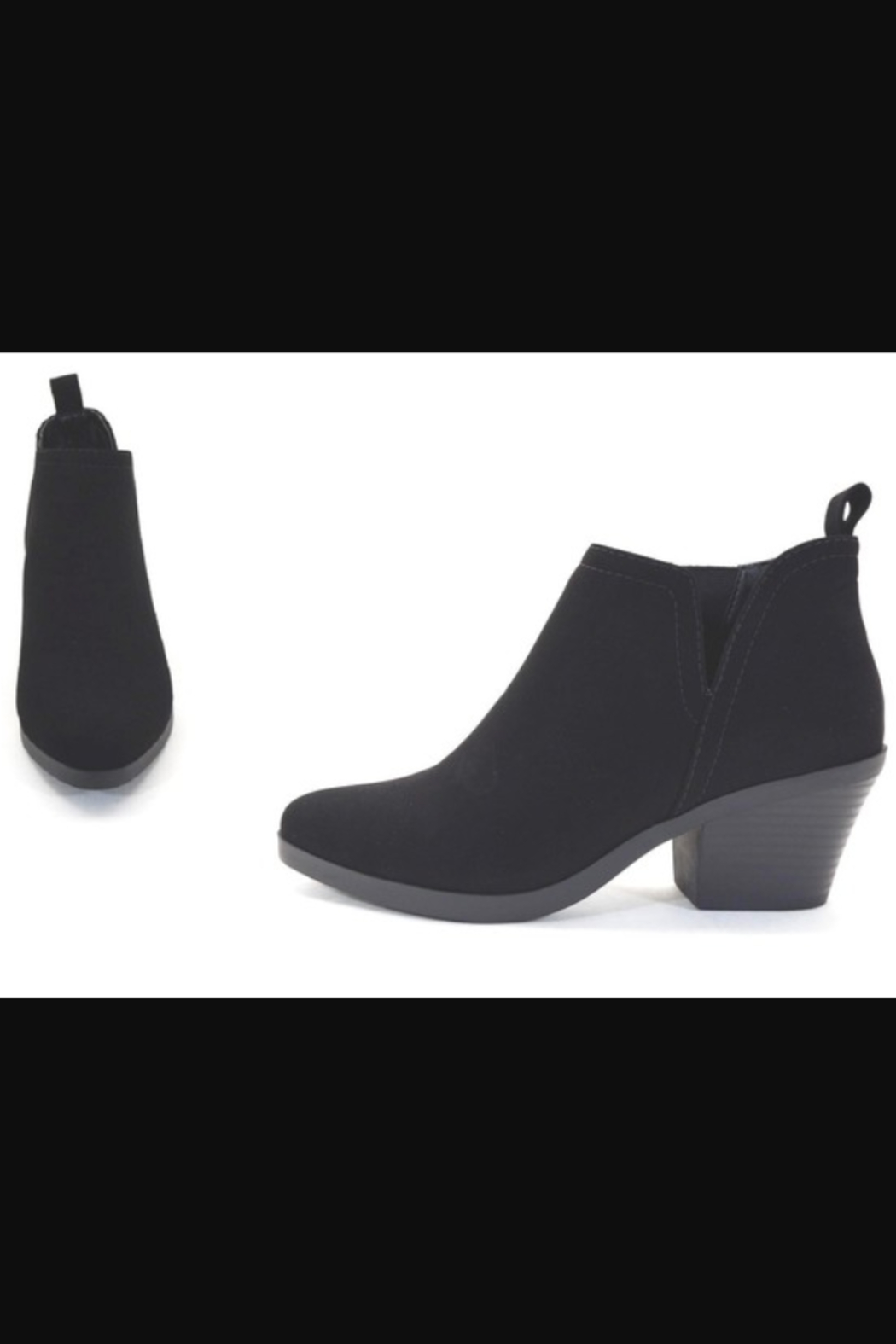Soda Armory Ankle Booties - Main Image