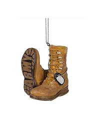 Midwest CBK Army Boot Ornament - Front cropped