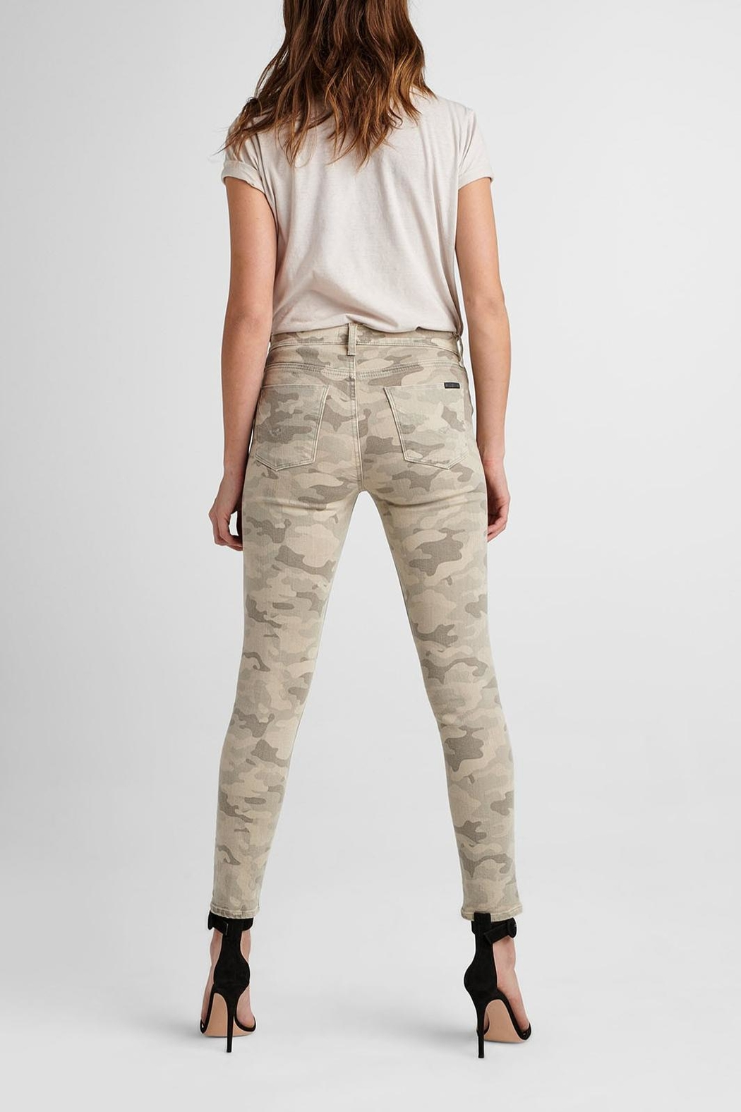 Hudson Jeans Army Camo Ankle-Skinny - Side Cropped Image