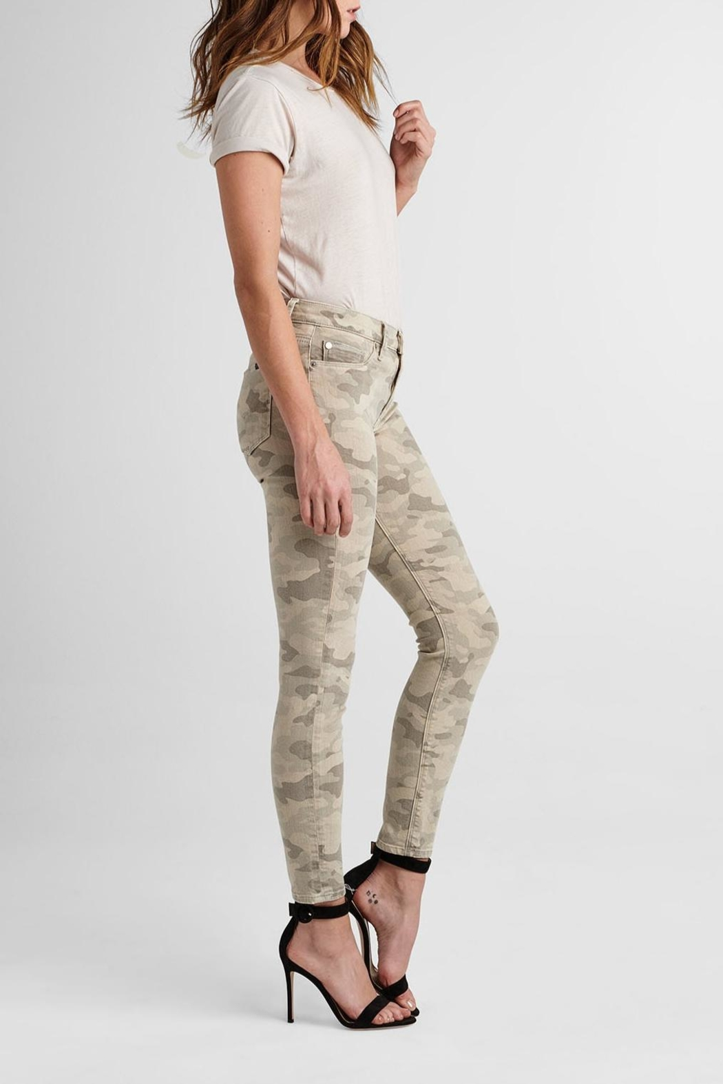 Hudson Jeans Army Camo Ankle-Skinny - Front Full Image