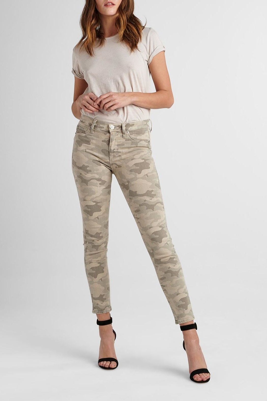 Hudson Jeans Army Camo Ankle-Skinny - Main Image