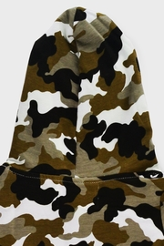 T & Tim Army Camouflage Jumpsuit with Hoodie - Other
