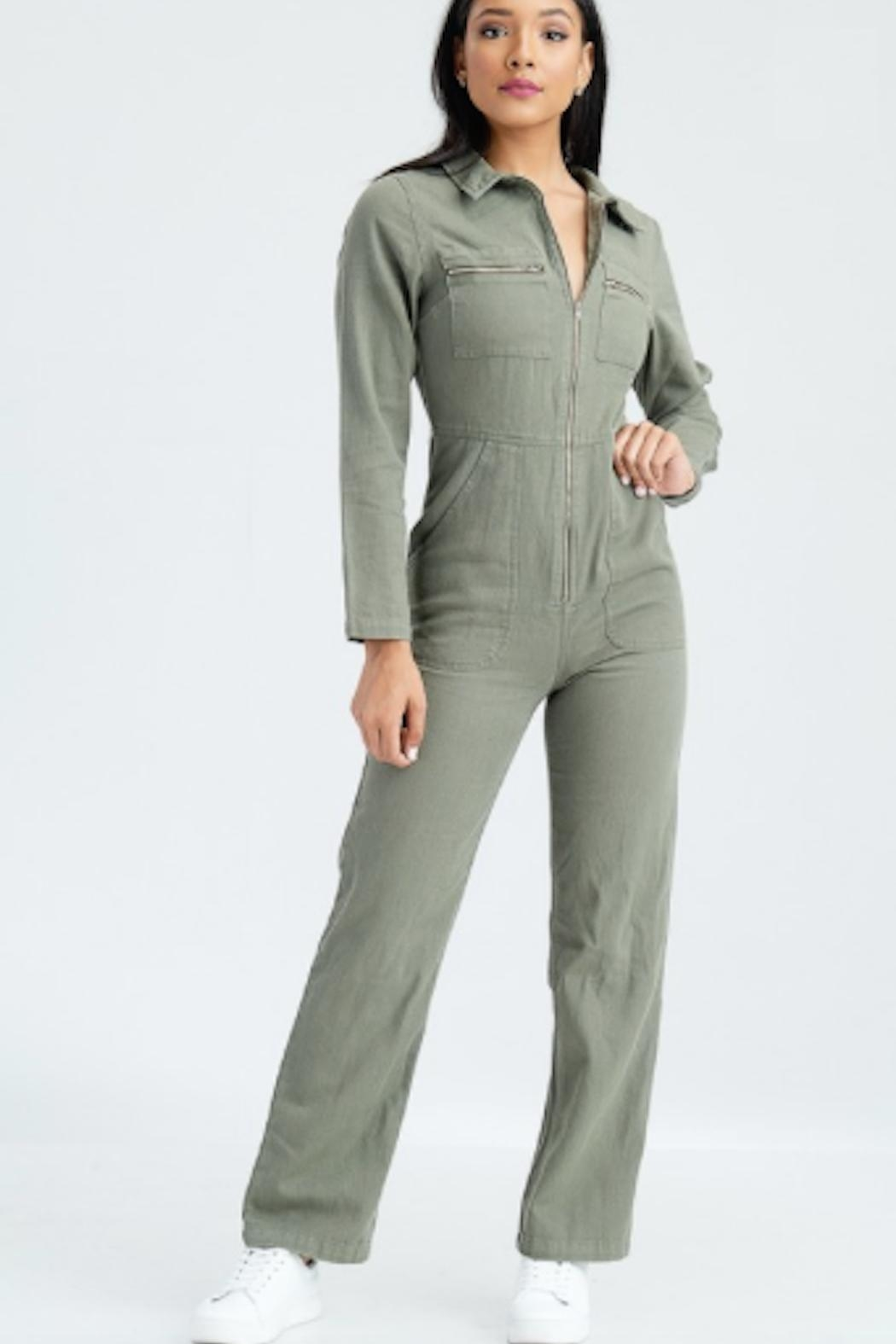 TIMELESS Army Jumpsuit - Main Image