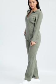 TIMELESS Army Jumpsuit - Front full body