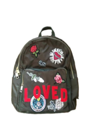 Ah!dorned ARMY NYLON STRIPE LOVED PATCH BACKPACK - Product Mini Image