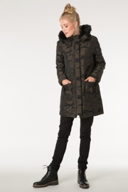 Yest Army Puffer Coat - Product Mini Image