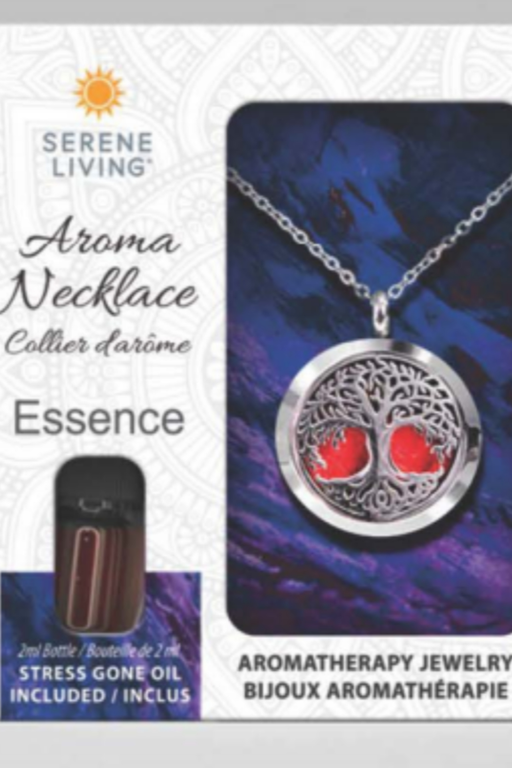 Serene Living Aroma Necklace Essence or Embrace - Main Image