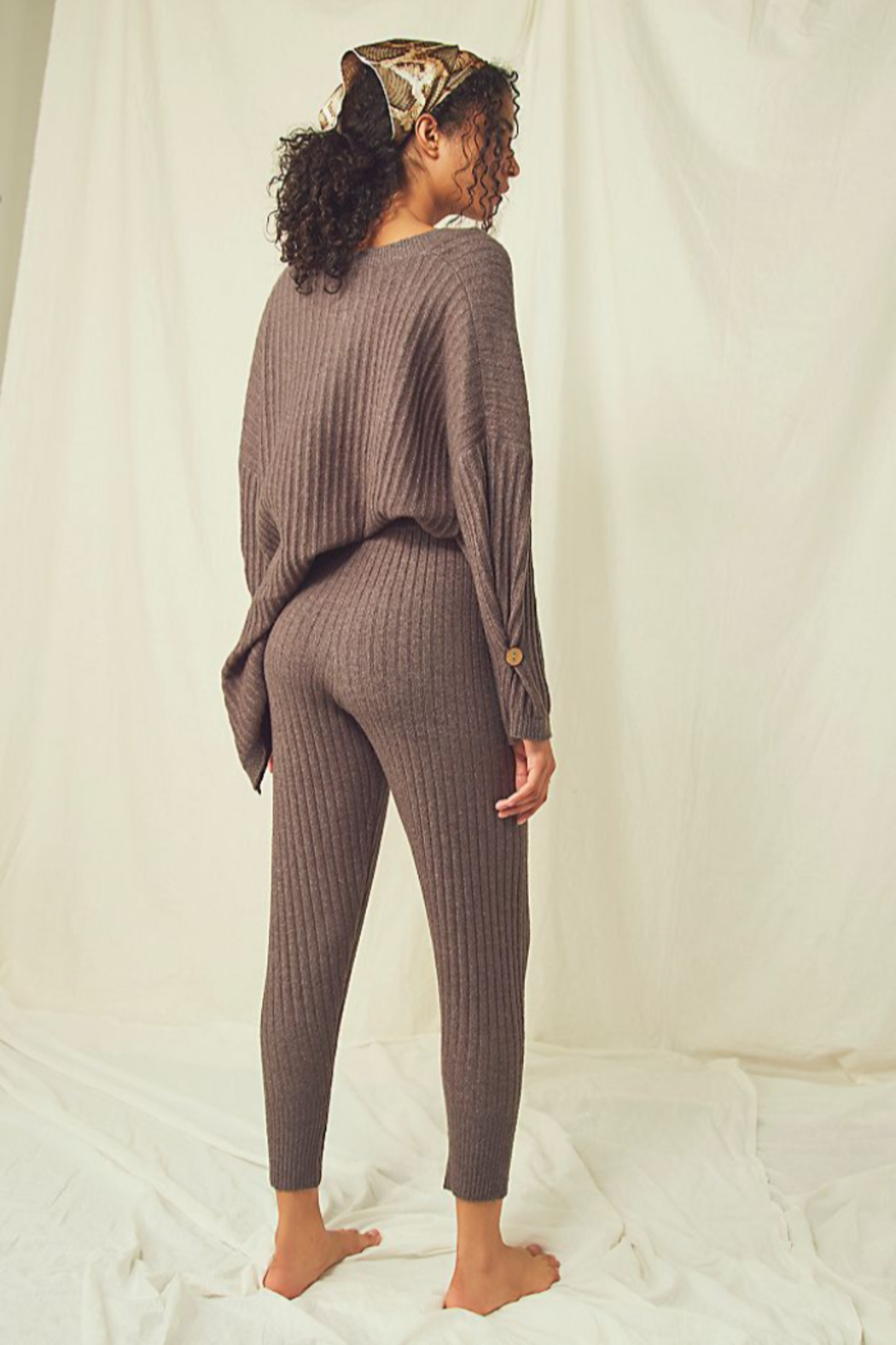 Free People  Around The Clock Jogger - Front Full Image