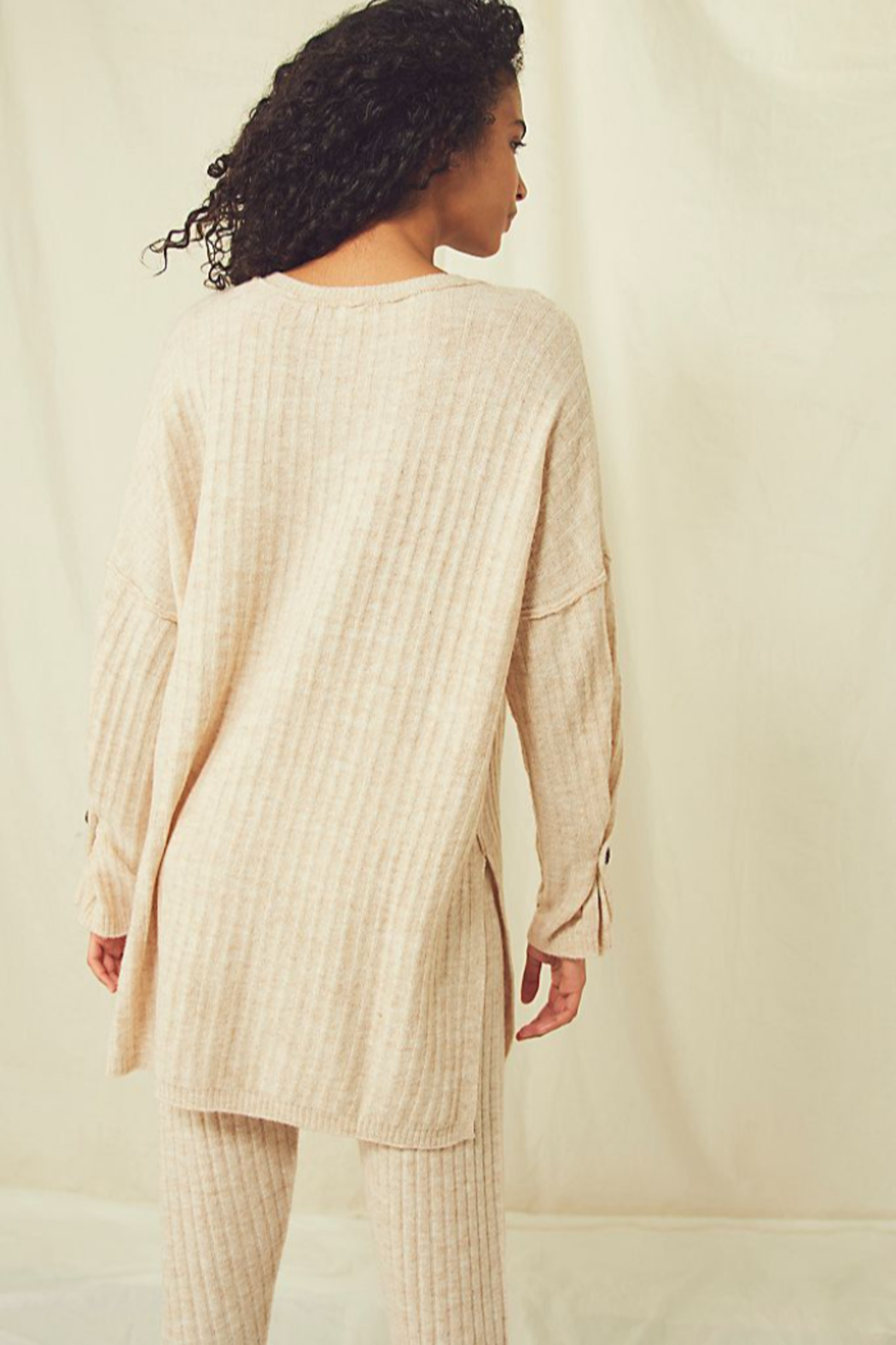 Free People  Around The Clock Pullover - Front Full Image