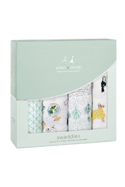 Aden + Anais Around The World 4 Pack Classic Swaddles - Product Mini Image