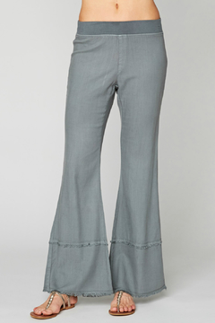 Shoptiques Product: Arrin Fray Hem Pull-on Twill Pant