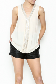 Arrnc Vintage Bead Top - Front cropped