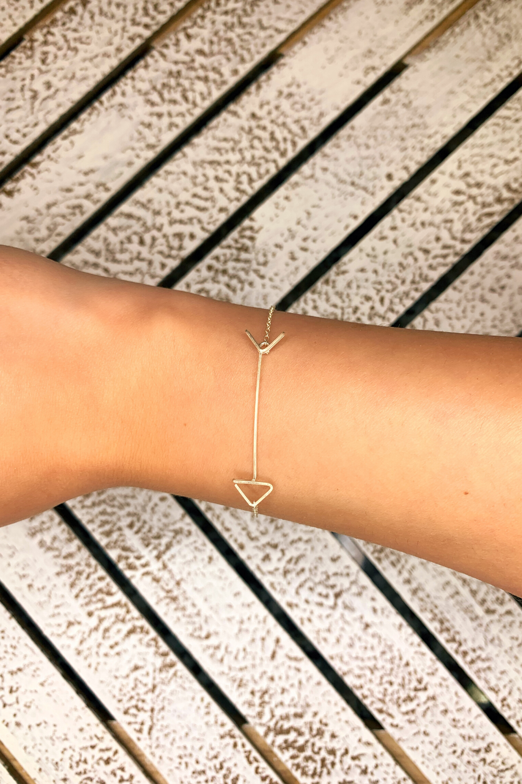By Philippe Arrow Bracelet Gold Filled - Main Image