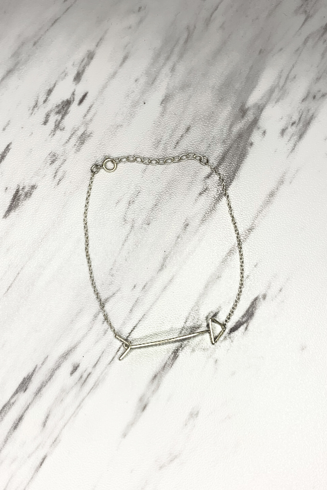 By Philippe Arrow Bracelet Gold Filled - Front Full Image