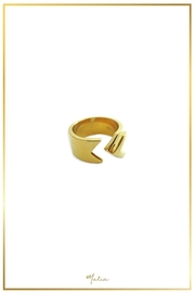 Malia Jewelry Arrow Goldplated Ring - Product Mini Image