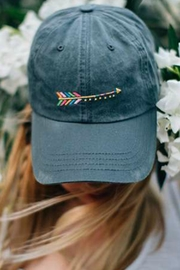 Natural Life Arrow Hangout Cap - Product Mini Image