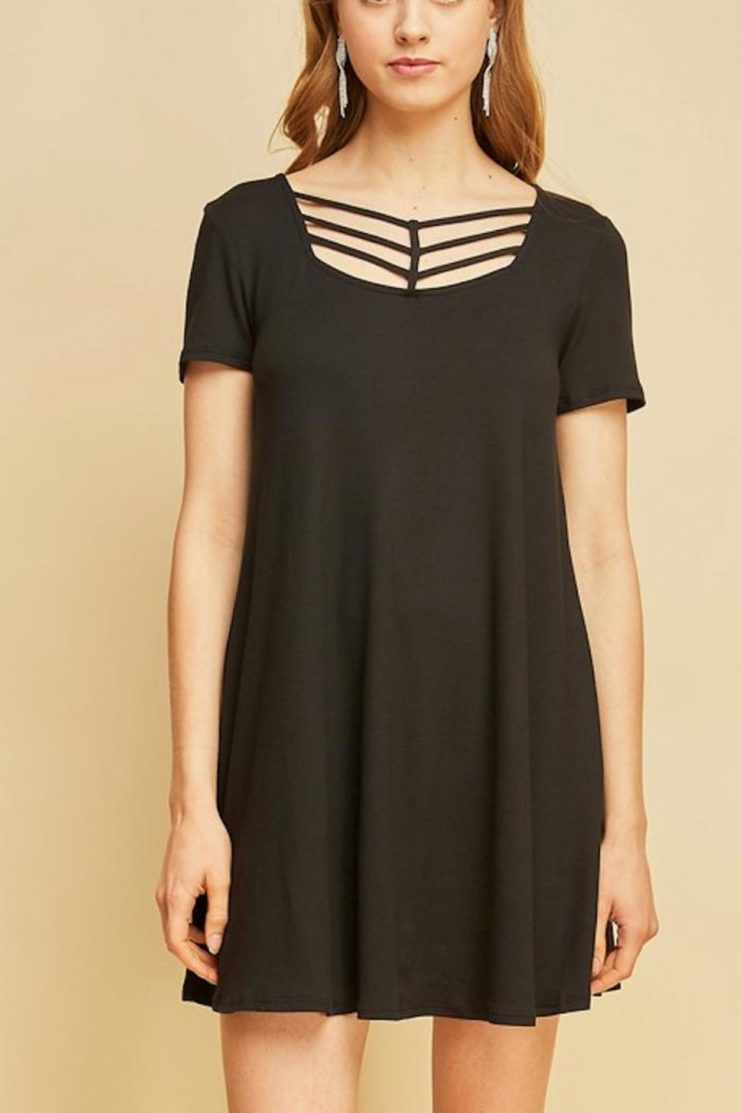 Entro Arrow Tee Dress - Main Image