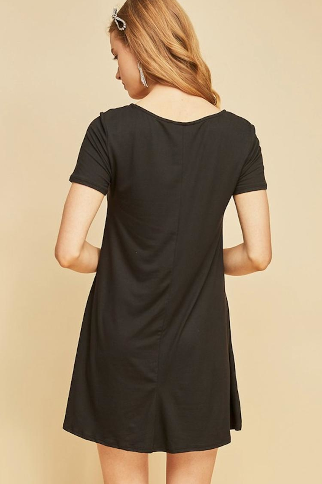 Entro Arrow Tee Dress - Front Full Image