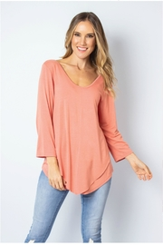 Simply Noelle Arrowhead Layered Top - Product Mini Image