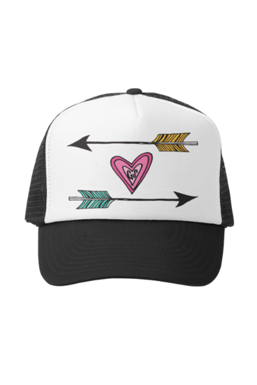 Grom Squad Arrows Trucker Hat - Front Cropped Image