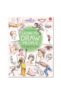Eeboo Art Book- Learn to Draw - Product List Image