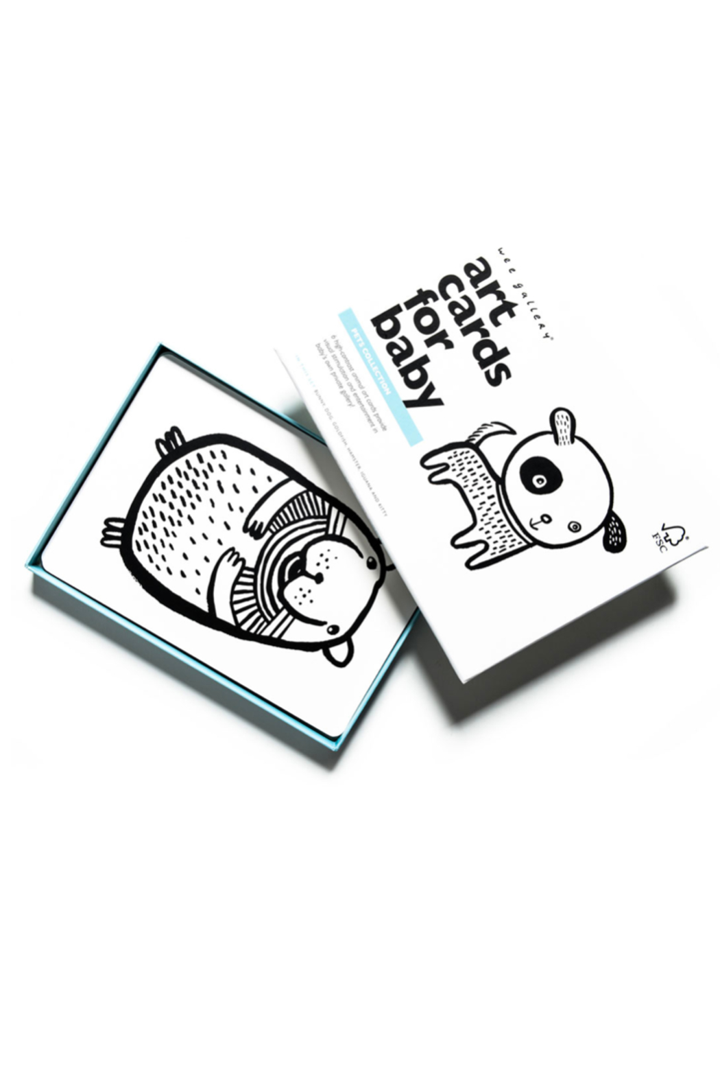Wee Gallery Art Cards for Baby - Pets Collection - Main Image