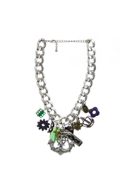 Art By Amy Mardi Gras Necklace-Anchor - Product Mini Image