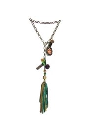 Art By Amy Mardi-Gras Necklace Tassel - Product Mini Image