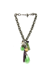 Art By Amy Mardi Gras Necklace-Tassel - Front cropped