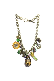 Art By Amy Mardi-Gras Necklace-Topaz Drop - Product Mini Image