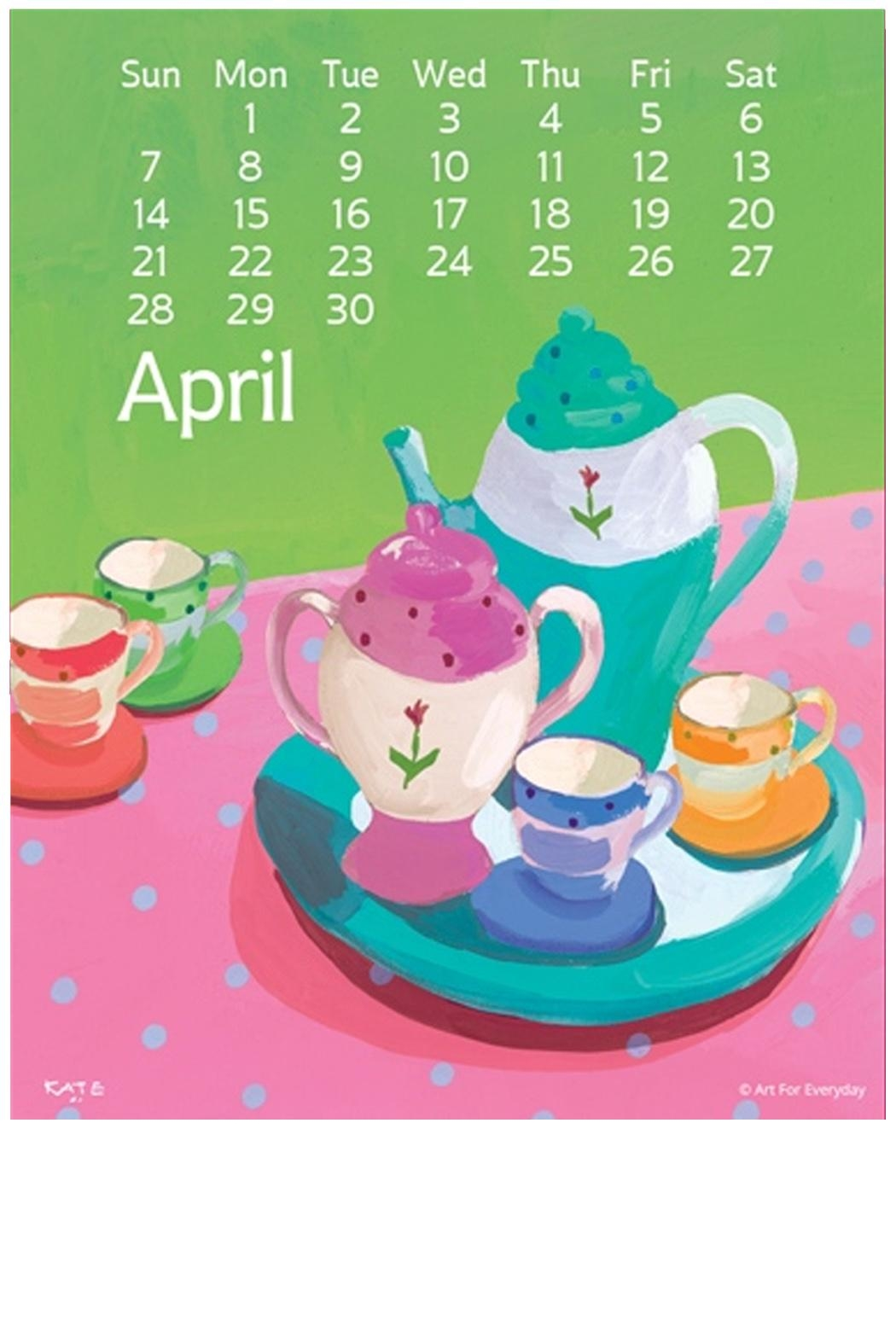 Art for Everyday Kate Libby Calendar - Side Cropped Image