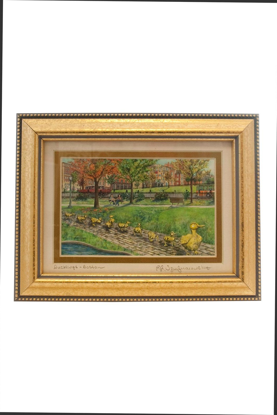 Art on Tour Boston Duckling Print - Front Cropped Image