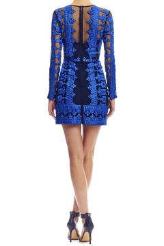 Shoptiques Product: Embroidered Illusion Dress