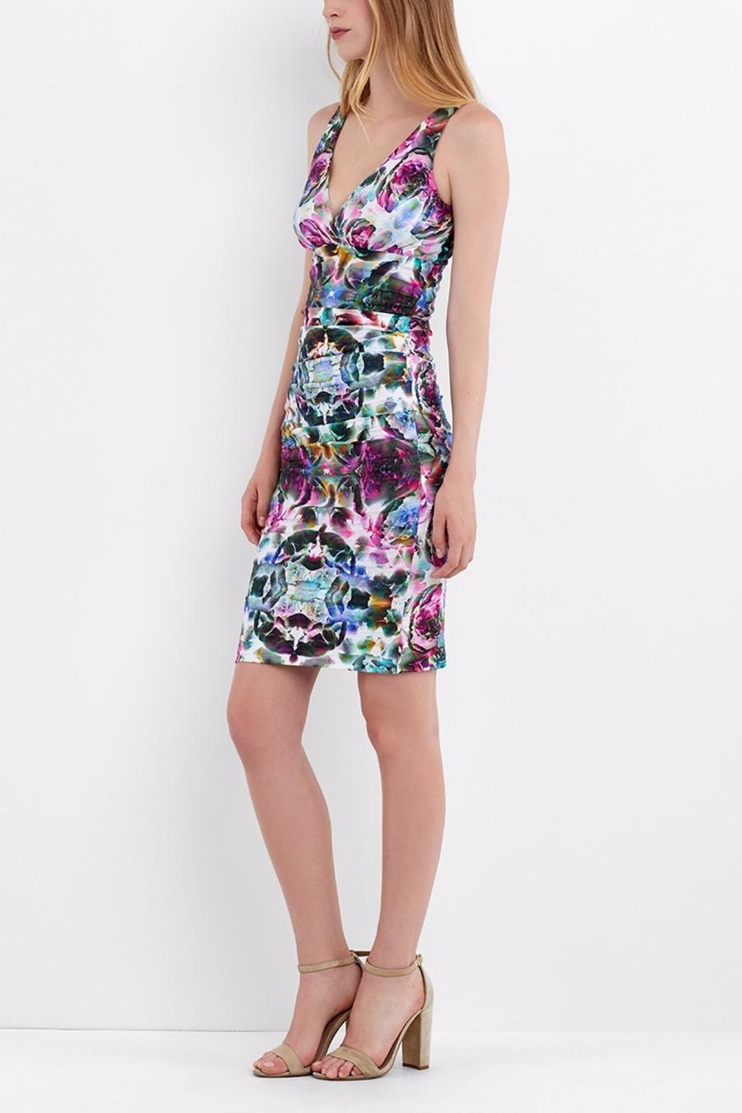 Artelier Nicole MIller Krista Fitted Dress - Front Full Image