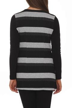 Artex Faux-Suede Stripe Top - Alternate List Image