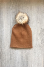 Artex Pom Pom Beanie - Product Mini Image