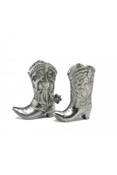 Shoptiques Product: Cowboy Salt and Pepper Set