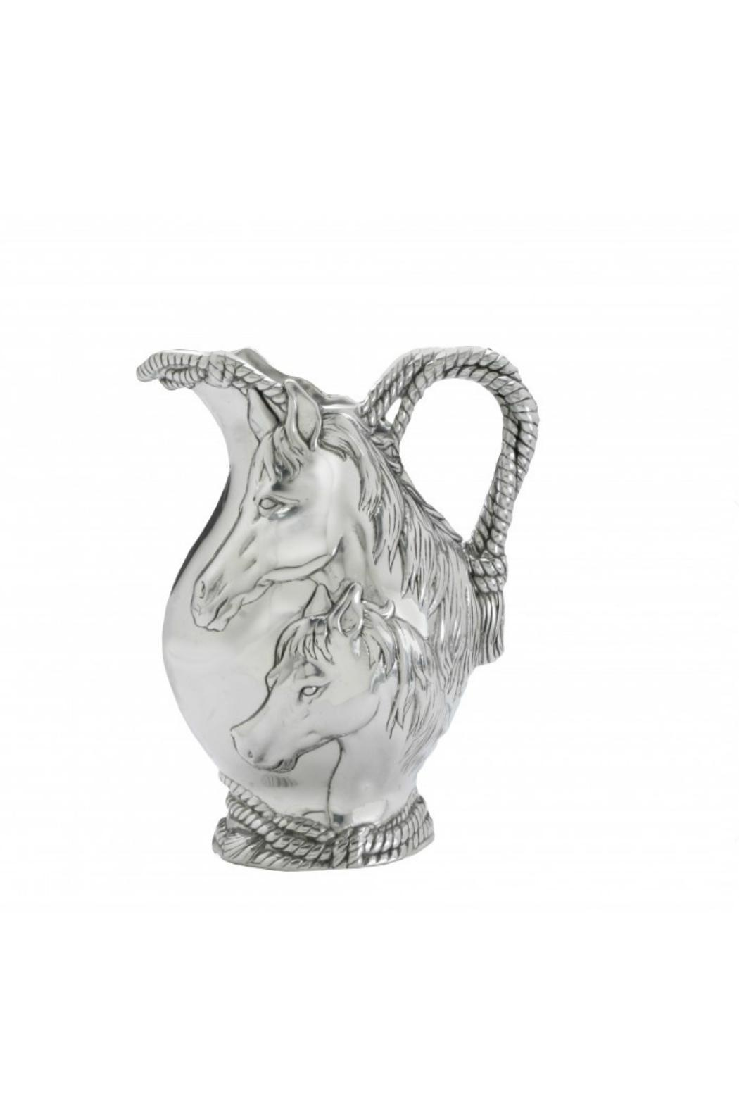 Arthur Court Designs Horse Pitcher - Front Cropped Image