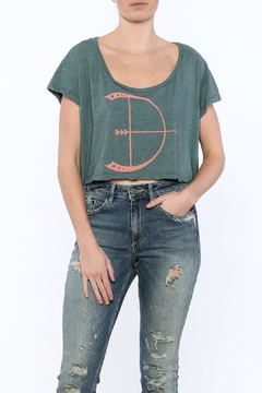 Shoptiques Product: Archer Cropped Tee