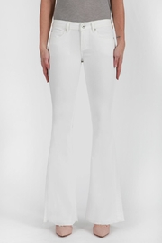 Articles of Society Faith Flare White Jeans - Product Mini Image