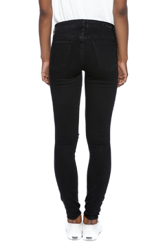 Shoptiques Product: Ripped Black Skinnies