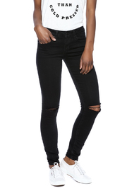 Articles of Society Ripped Black Skinnies - Product Mini Image