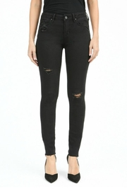 Articles of Society Black Distressed Skinnies - Product Mini Image