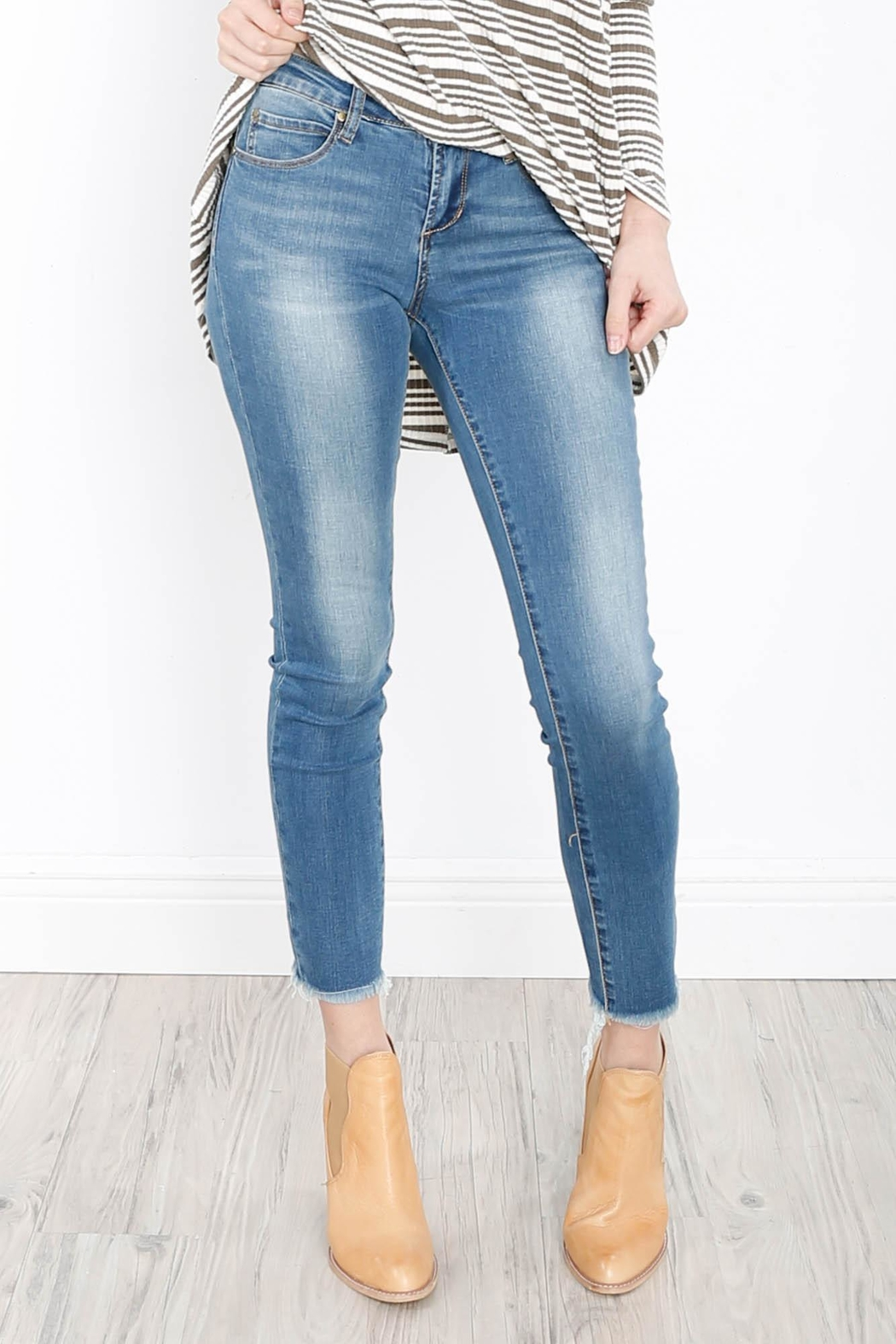 Articles of Society Carly Skinny Crop Jeans - Main Image