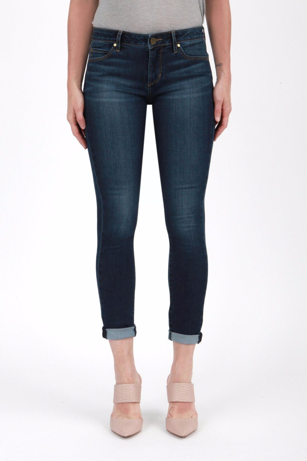 Articles of Society Cuffed Skinny Jeans - Main Image