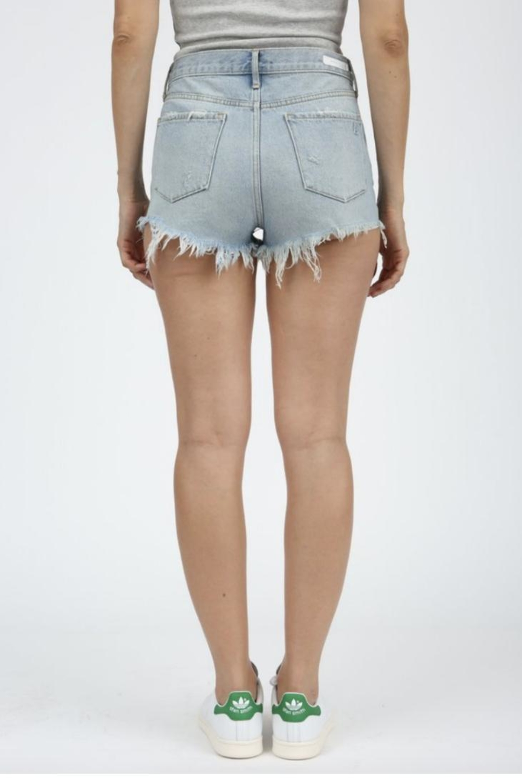 Articles of Society Denim Cuttoffs - Front Full Image