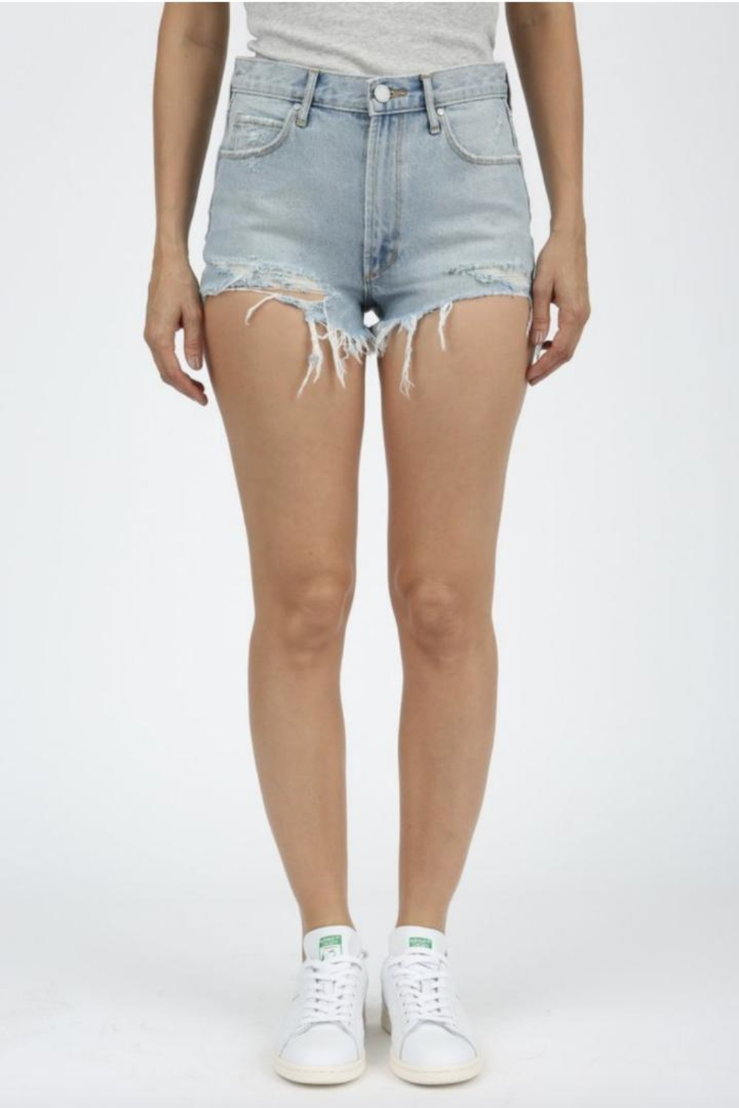 Articles of Society Denim Cuttoffs - Main Image