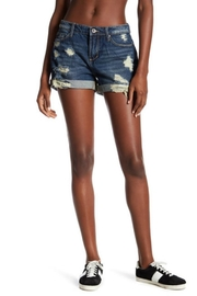 Articles of Society Distressed Denim Shorts - Product Mini Image