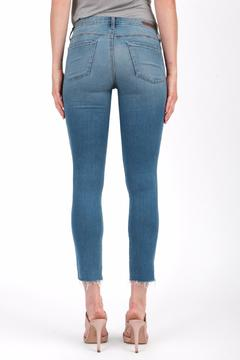 Articles of Society Cropped Blue Jeans - Alternate List Image