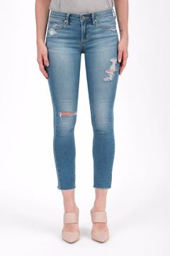 Articles of Society Cropped Blue Jeans - Product List Image